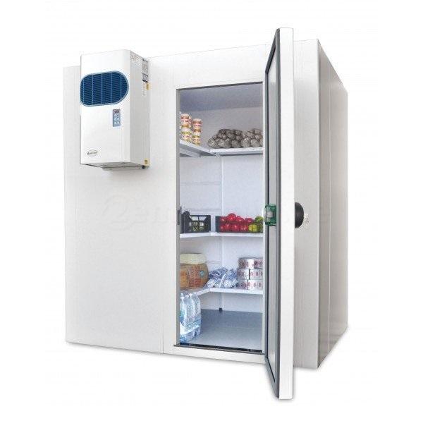 Chambre froide positive 1260x1640x2070h mm mat riel horeca professionnel bruxelles - Chambre froide commercial ...